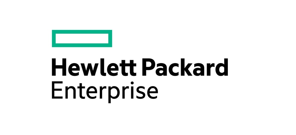 affiche les mots Hewlett Packard Enterprise