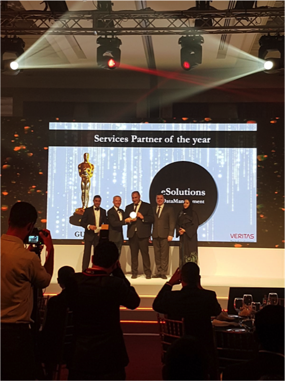 eSolutions Data Management wins 2018 Veritas Services Partner of the Year